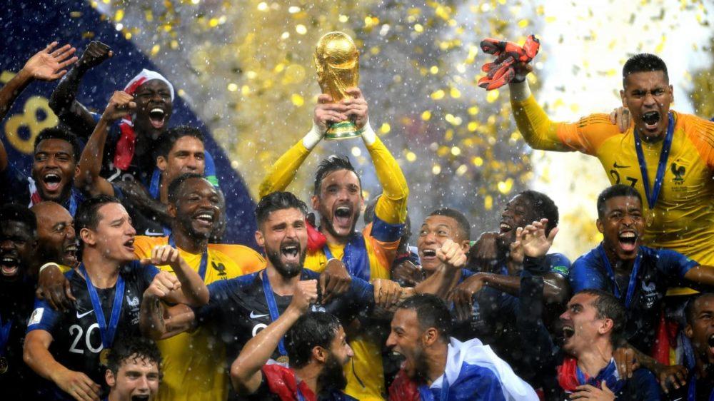France Victoire CM2018 Coupe du monde 2018 : Tim Cook félicite les Bleus pour leur victoire