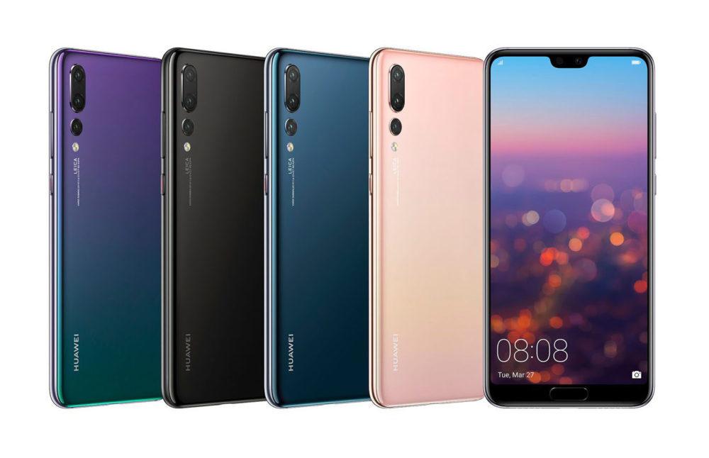 Huawei P20 Pro 2 1000x646 Huawei devance Apple et devient le deuxième vendeur de smartphones