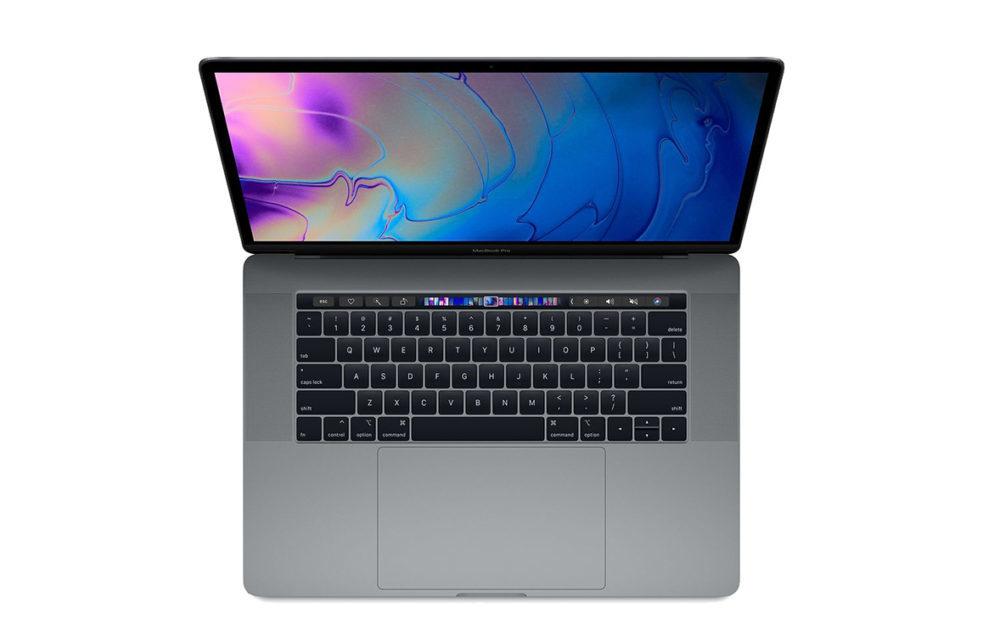 MacBook Pro 15 Pouces 2018 1000x632 Apple corrige le problème du son de grincement sur les MacBook Pro 2018