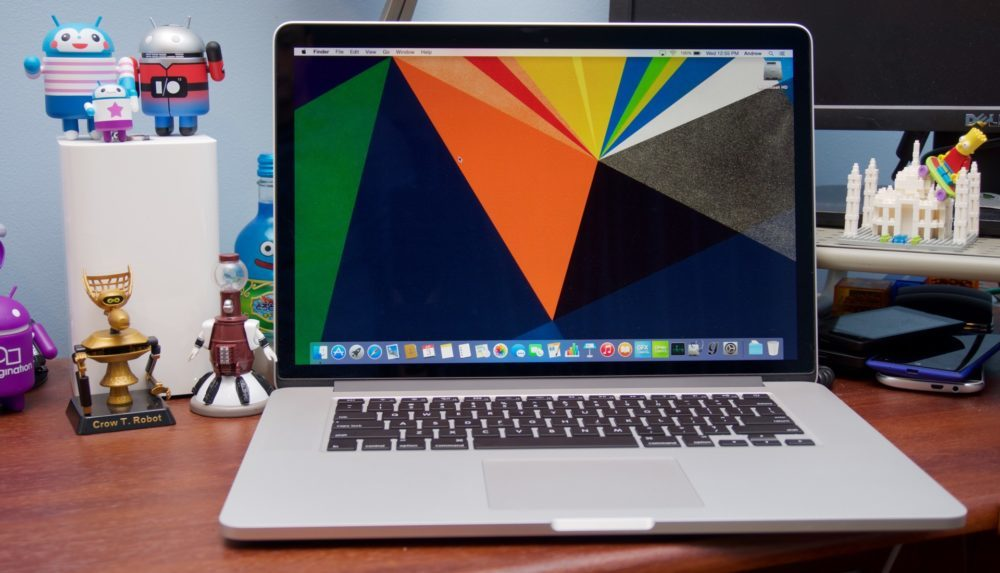 MacBook Pro 2015 Ecran 1000x573 Apple cesse de proposer à la vente le MacBook Pro 2015