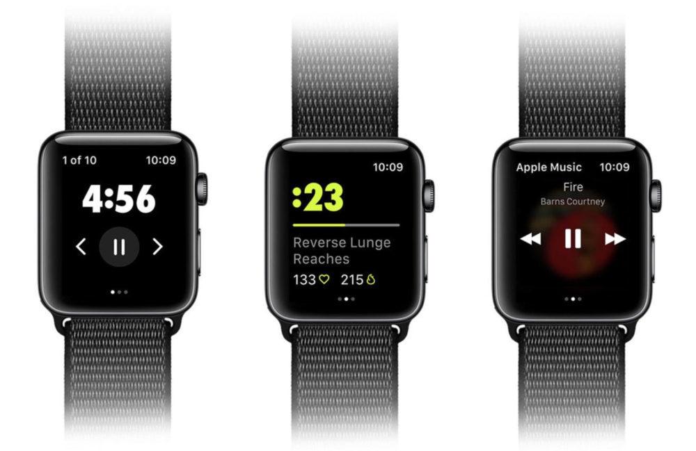 Nike Training Club Apple Watch 1000x649 Lapplication Nike Training Club est désormais compatible avec lApple Watch