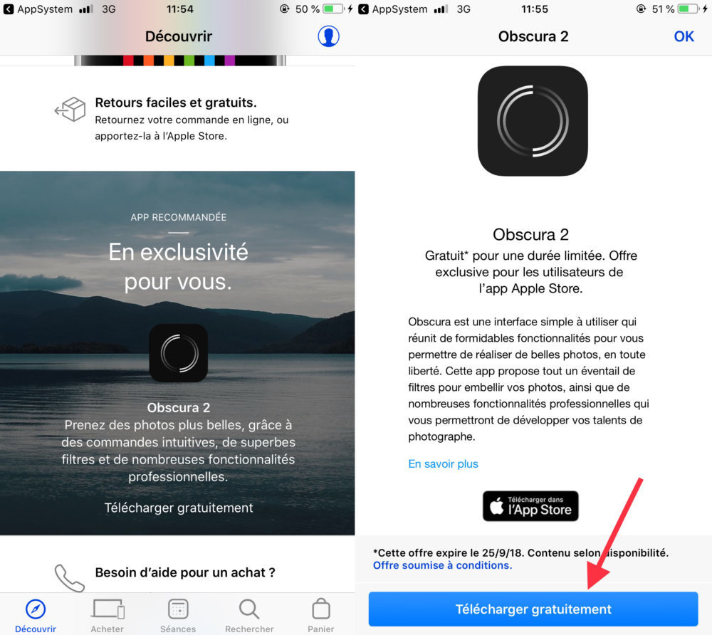 Obscura 2 Telechargement 1 1000x892 Apple propose gratuitement au téléchargement l'application Obscura 2