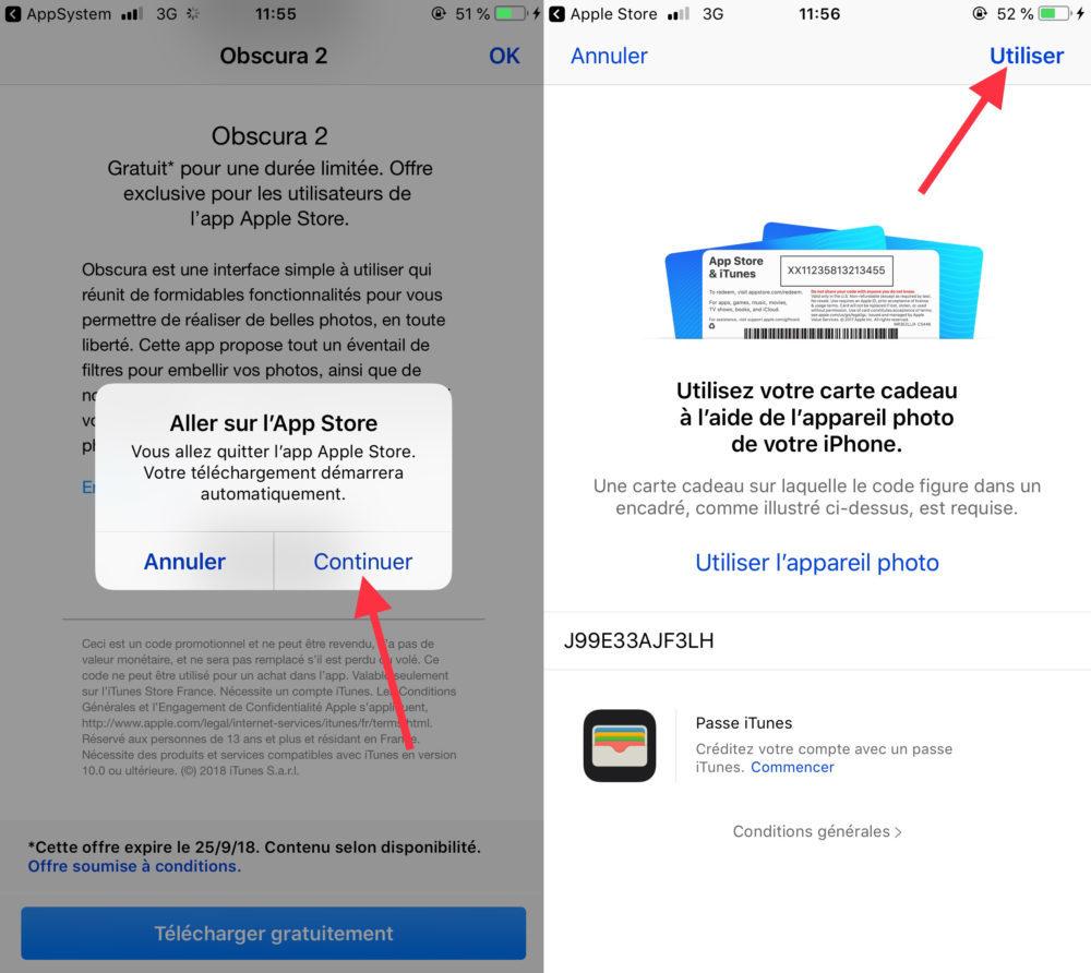 Obscura 2 Telechargement 2 1000x892 Apple propose gratuitement au téléchargement l'application Obscura 2