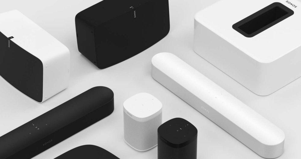 Sonos Enceintes 1000x527 AirPlay 2 est désormais disponible sur les enceintes connectées de Sonos