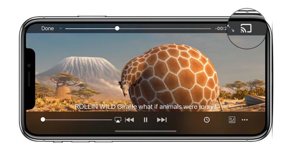 VLC iPhone X Chromecast 1000x547 VLC sur iOS se met à jour pour prendre en charge les vidéos à 360 degrés et Chromecast