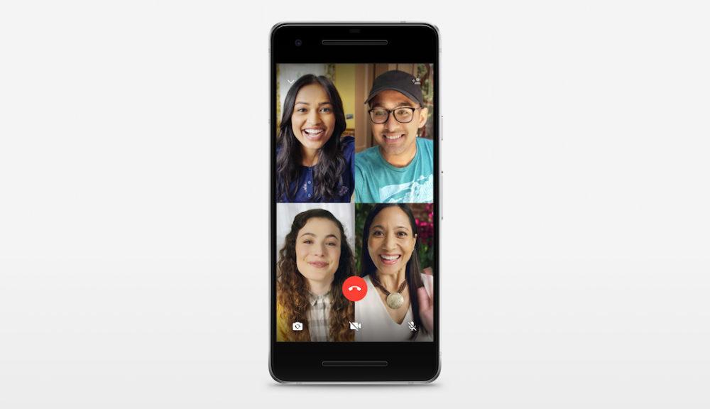WhatsApp Apple Video Groupe 1000x576 WhatsApp propose maintenant de passer des appels vocaux et vidéos de groupe