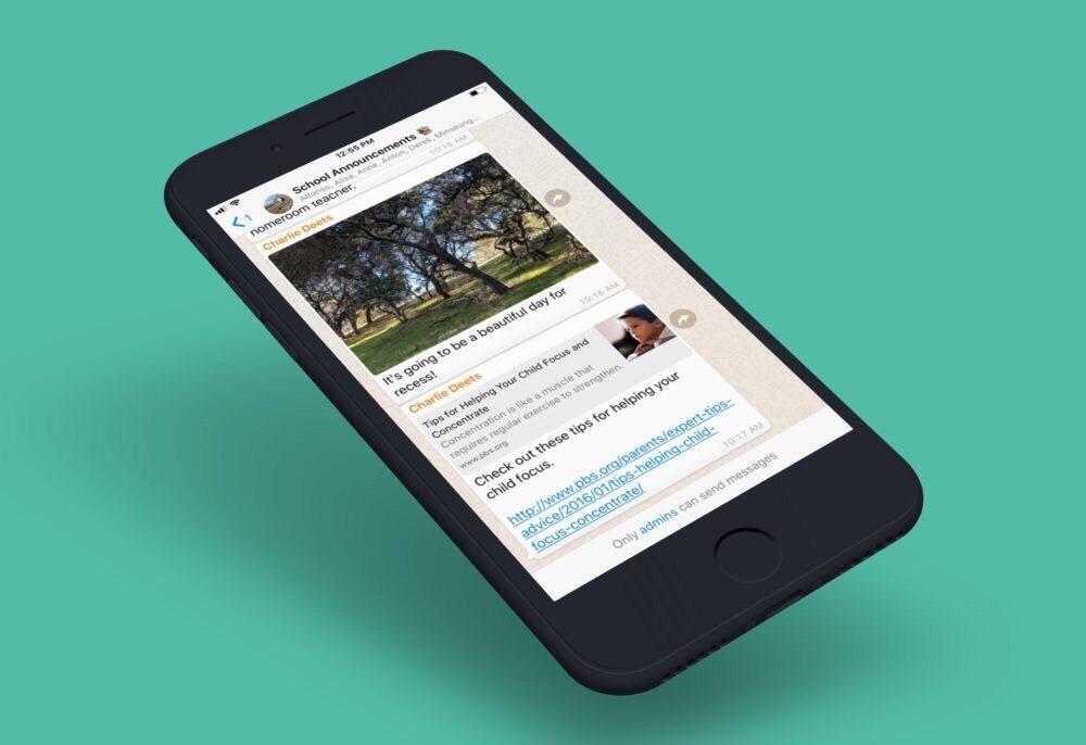 WhatsApp iPhone Mise a Jour 1000x686 WhatsApp : une mise à jour ajoute des nouveautés pour les admins de groupe