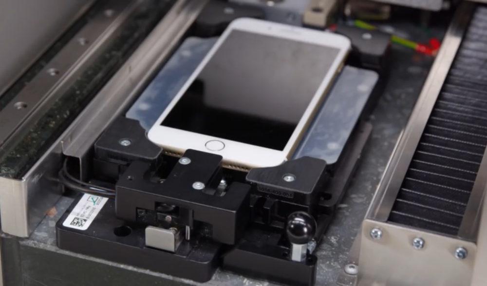 iPhone Reparation 1000x587 Des vidéos internes dApple fuitent sur YouTube : réparation iPhone X et Mac