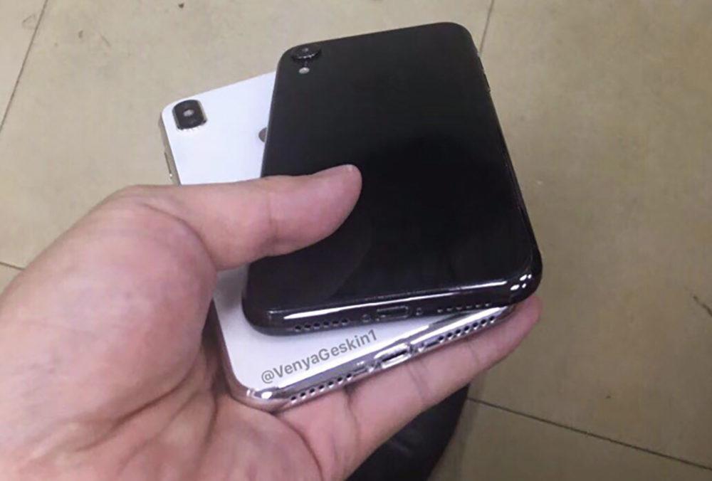 iPhone X Plus iPhone LCD 2018 1000x676 iPhone X Plus et iPhone LCD : des images synthétiques fuitent sur la toile