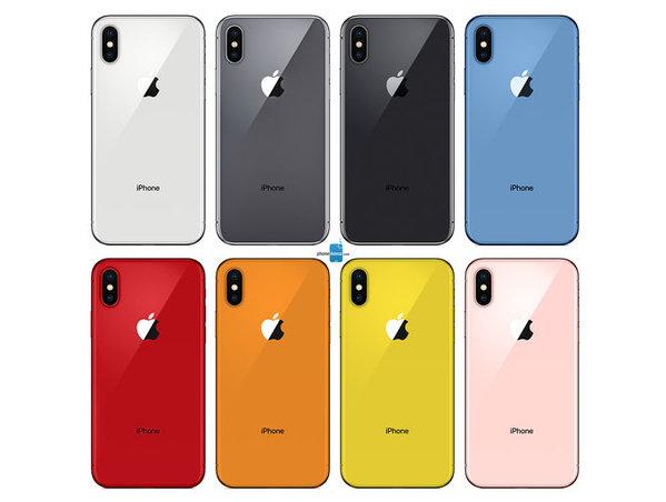 iPhone de 2018 Coloris 2 Concept : voici les possibles coloris des iPhone de 2018 (photos)