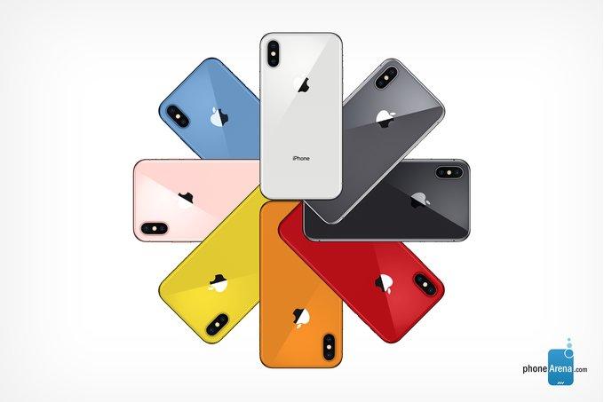 iPhone de 2018 Coloris Concept : voici les possibles coloris des iPhone de 2018 (photos)