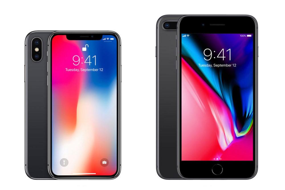 iphone x iphone 8 plus ventes 1000x667 LiPhone 8 Plus est liPhone le plus vendu durant le Q2 2018, suivi par liPhone X