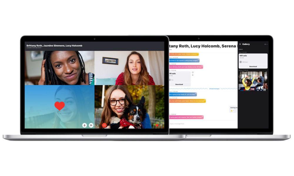 macOS Skype 1000x599 Skype va proposer lenregistrement des appels sur Mac et sur iOS