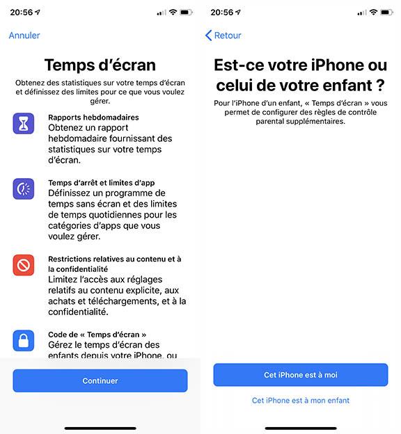 temps ecran ios 12 beta 5 Voici la liste des nouveautés apportées par iOS 12 bêta 5