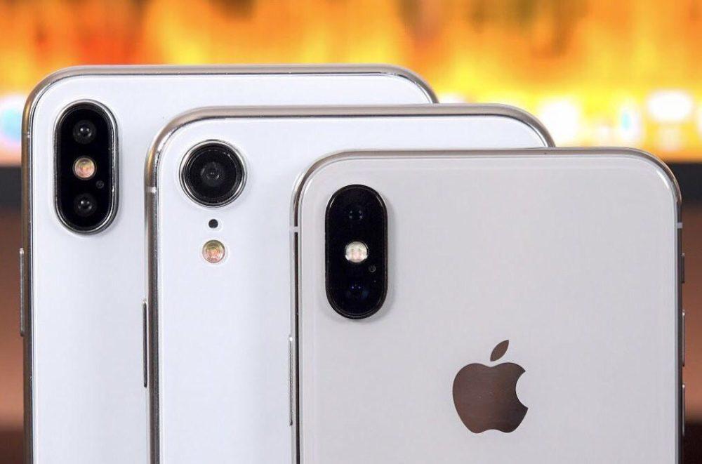 3 iPhone de 2018 1000x661 Près de la moitié des utilisateurs diPhone prévoient de passer sur un nouveau modèle