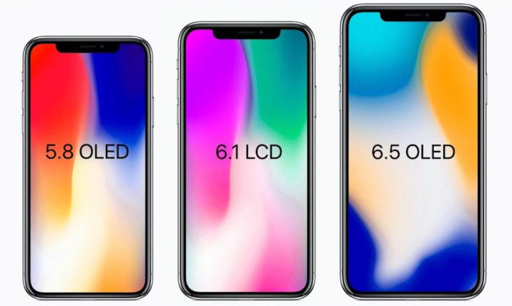 3 iphone 2018 copie 1000x598 Les utilisateurs sont beaucoup plus intéressés par les prochains iPhone que le Galaxy Note 9