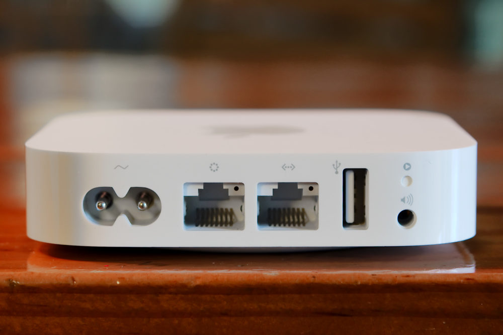 AirPort Express L'AirPort Express supporte désormais AirPlay 2 et l'app Maison
