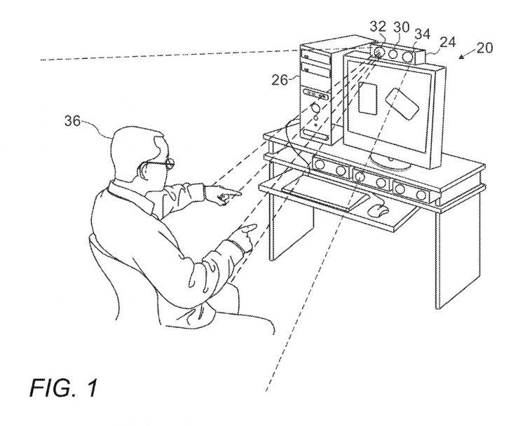 Brevet Reconnaissance Faciale Mac Face ID Gestes Un brevet décrit un Mac avec Face ID et le contrôle par les gestes