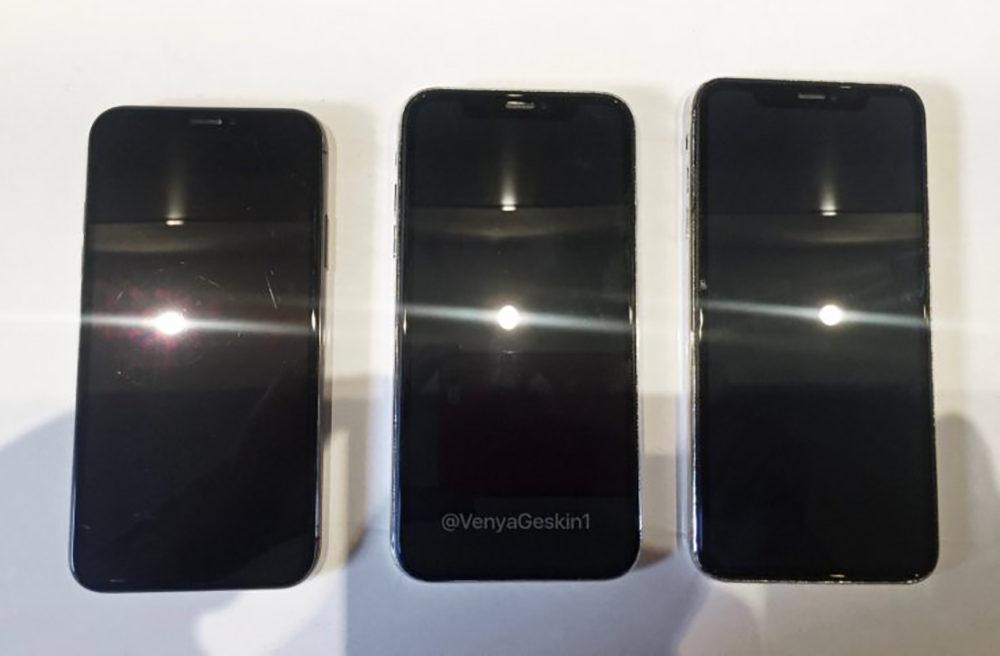Fuite iPhone 2018 Images 1000x656 De nouveaux clichés montrent l'avant et l'arrière des 3 iPhone de 2018