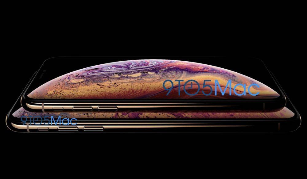 IPHONE XS 1000x584 Les iPhone XS 5,8 et 6,5 pouces dévoilés par erreur par Apple