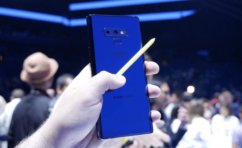 Samsung Galaxy Note 9 1000x611 Samsung se moque de labsence du stylet sur liPhone X et vante son Galaxy Note 9