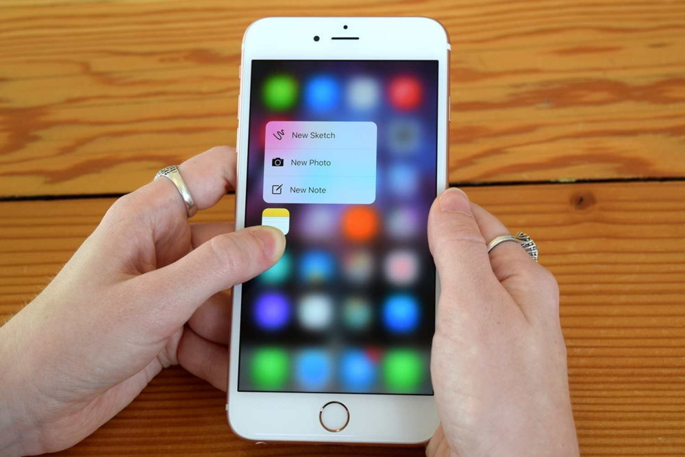 apple iphone 3d touch notes 1000x667 Apple pourrait abandonner le 3D Touch sur les iPhone de 2019