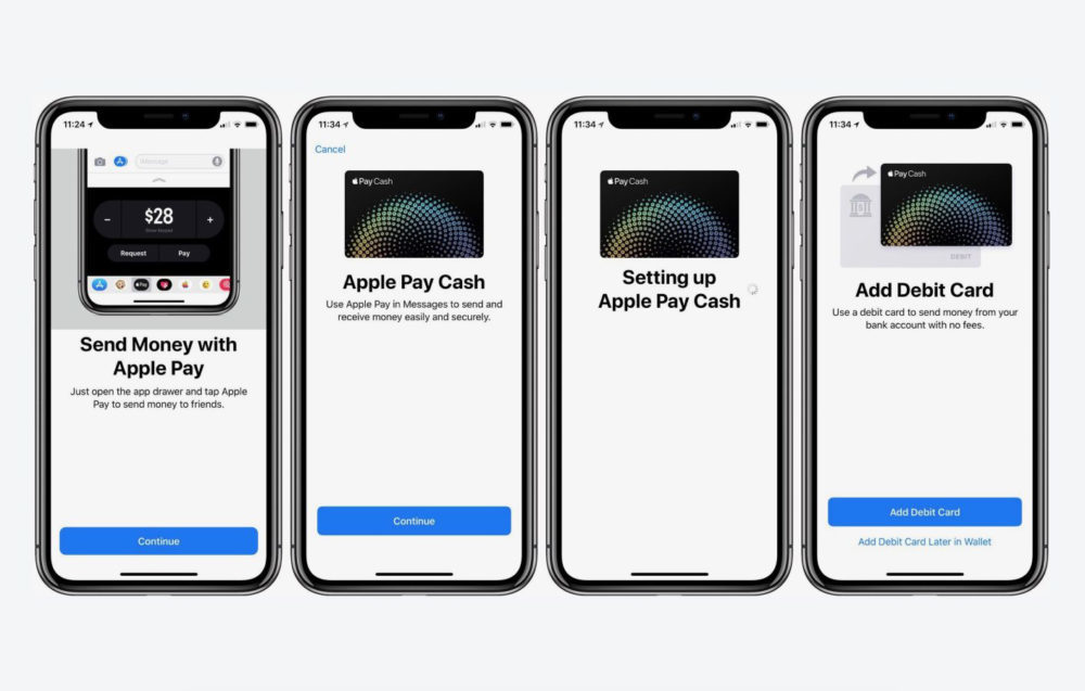 apple pay cash iphone x 1000x637 Apple continue de vanter Apple Pay Cash au travers de ses publicités