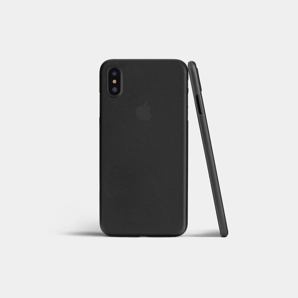 coque ultra fine iphone x ORIGINAL noir mat iPhone XR, XS, XS Max   Coques & protections décran
