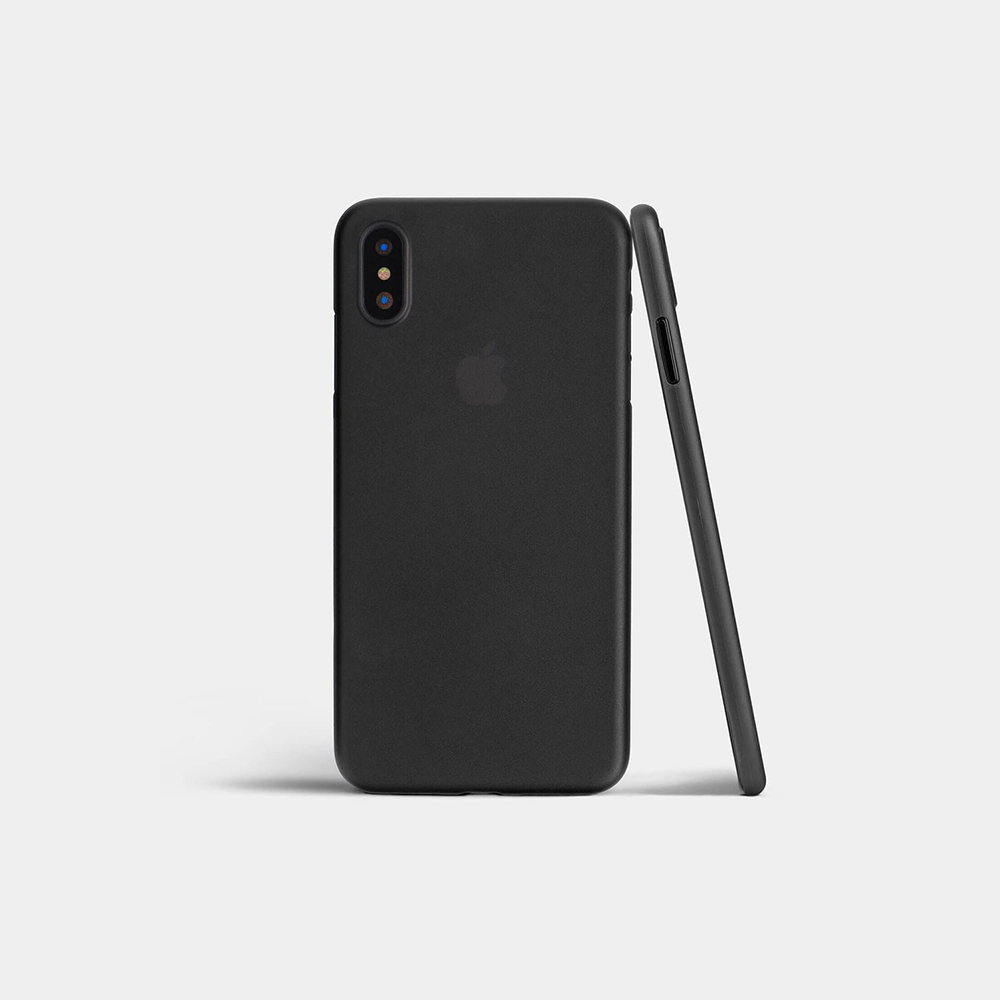 coque ultra fine iphone x ORIGINAL noir mat iPhone XR, XS, XS Max   Coques & protections décran