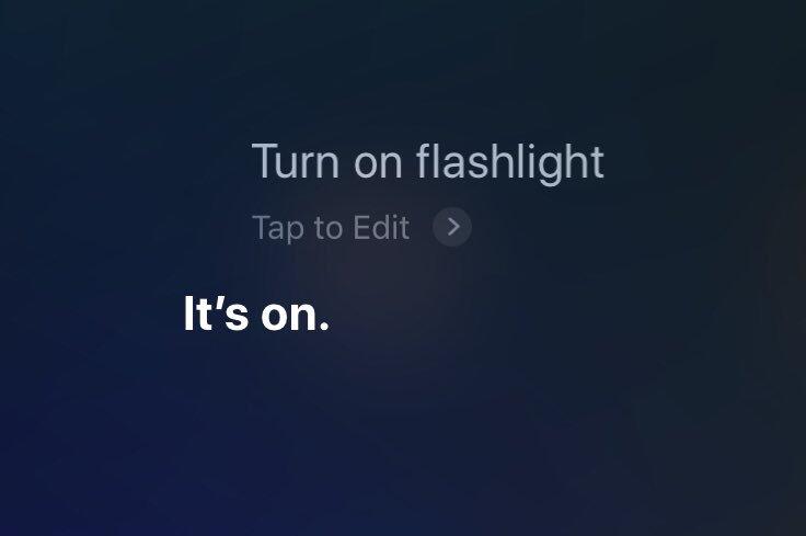 iOS 12 Activer Torche Avec Siri Avec iOS 12, Siri peut enfin activer la lampe torche sur iPhone