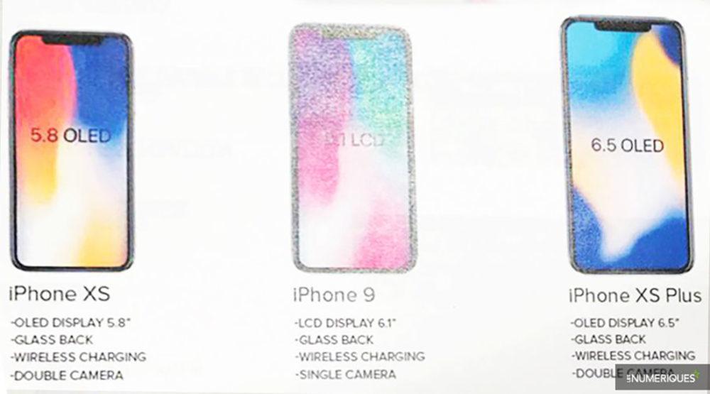 iphone 2018 modeles 1000x555 Les 3 modèles diPhone sont confirmés pour septembre, les noms dévoilés