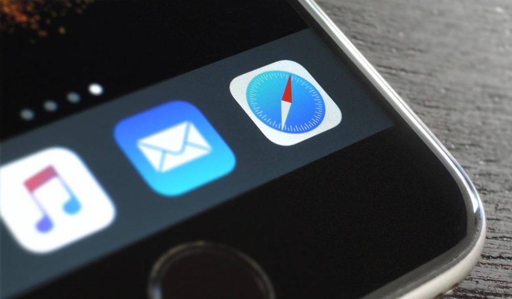 safari iphone ios 1000x585 iOS domine Android aux États Unis et Safari est le navigateur le plus utilisé