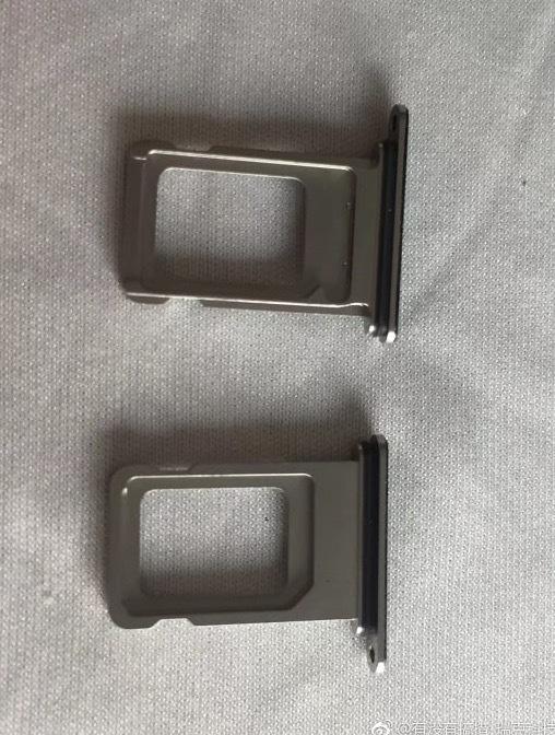 15663 Les tiroirs SIM de liPhone 9 et des screenshots du site dApple en fuite, les coloris dévoilés