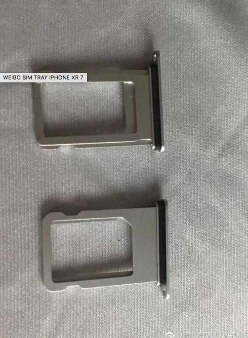 15664 Les tiroirs SIM de liPhone 9 et des screenshots du site dApple en fuite, les coloris dévoilés
