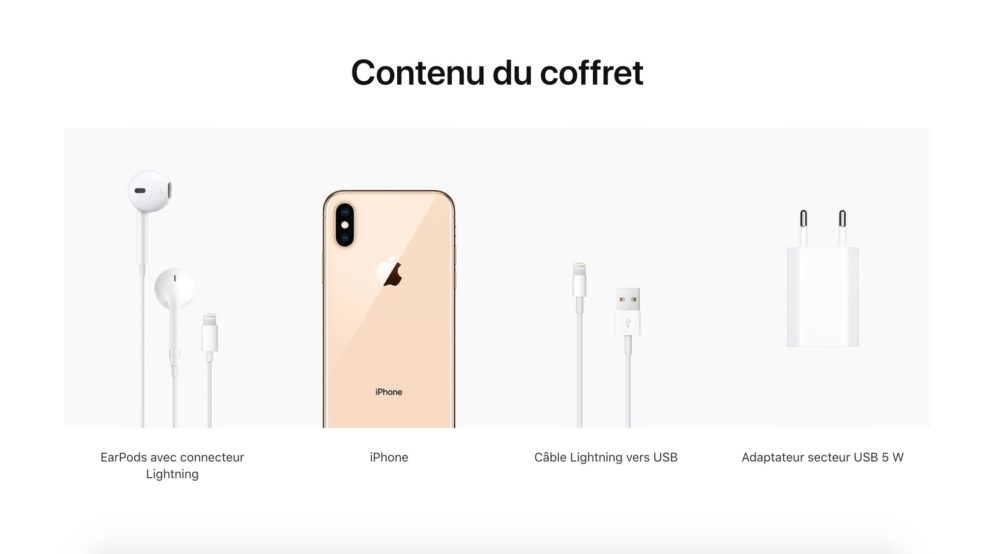 Adaptateur Jack Lightning iPhone Xs Xr Apple ne fournit plus dadaptateur Jack Lightning avec les iPhone Xs et Xr