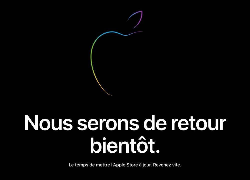 Apple Store en Ligne Ferme LApple Store en ligne ferme ses portes pour lajout des iPhone de 2018