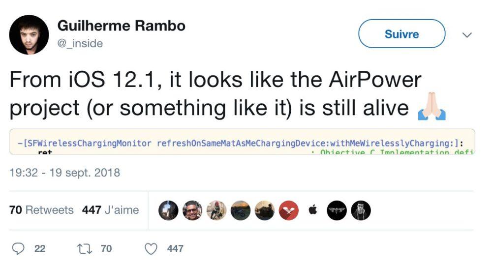 Capture d'écran 2018 09 20 à 14.01.26 LAirPower a t il été abandonné ? Sa trace retrouvée dans le code diOS 12.1