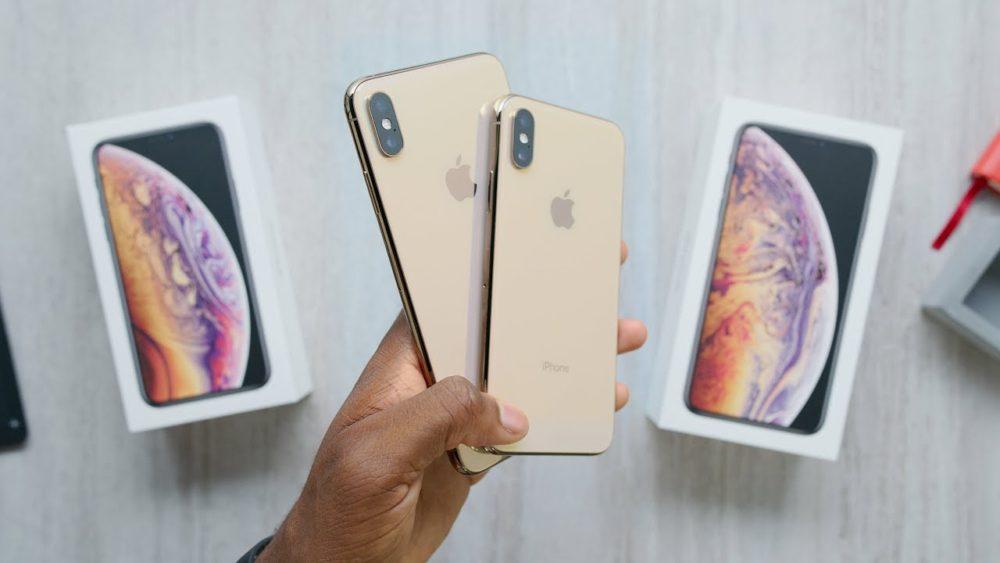 Deballage iPhone Xs Premier déballage vidéo de liPhone Xs et iPhone Xs Max