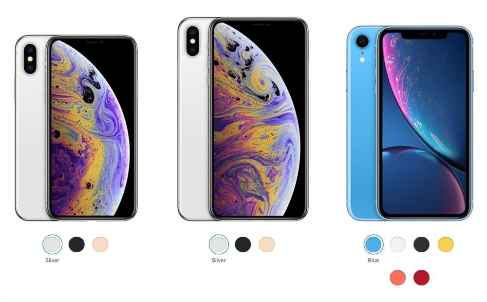 Nouveaux iPhone 2018 Voici les prix officiels en euro de liPhone Xs, iPhone Xs Max et iPhone Xr