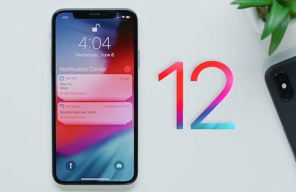 iOS 12 1000x649 iOS 12.3 bêta 5 est disponible pour  iPhone, iPad et iPod touch