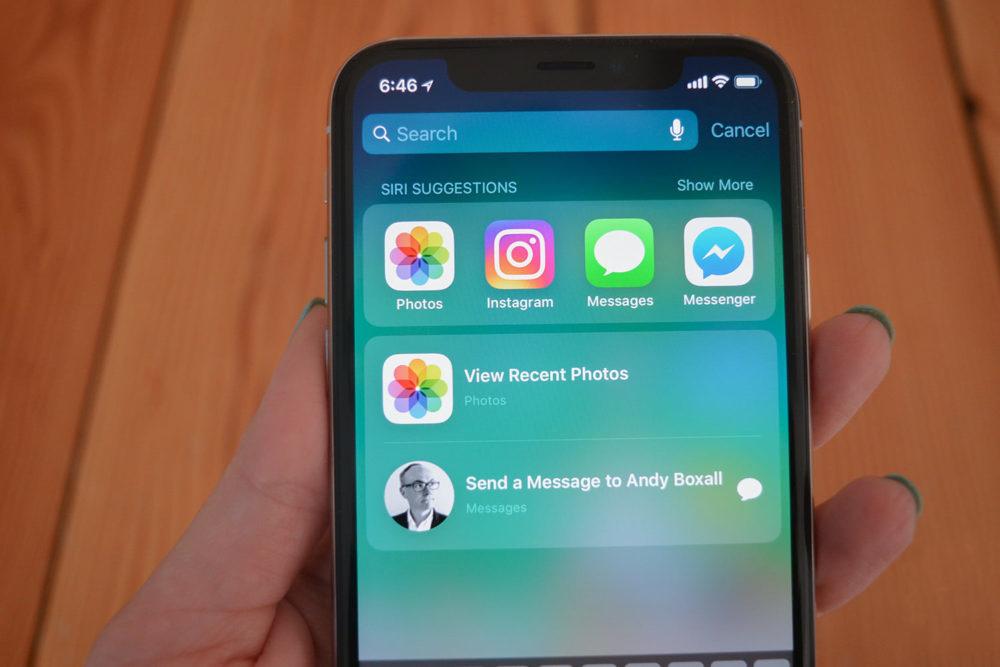 iOS 12 Suggestions Siri 1000x667 iOS 12.4 bêta 3 est disponible au téléchargement