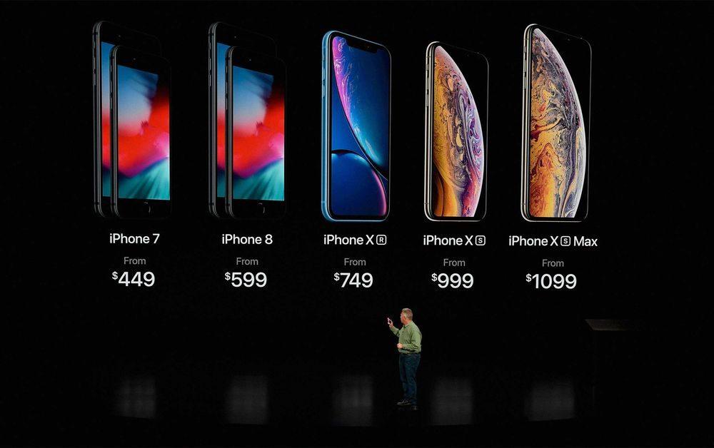 iPhone 8 8 Plus XR XS XS Max Prix US 1000x628 iPhone XS Max de 512 Go : Apple gagne 134 dollars sur chaque exemplaire vendu