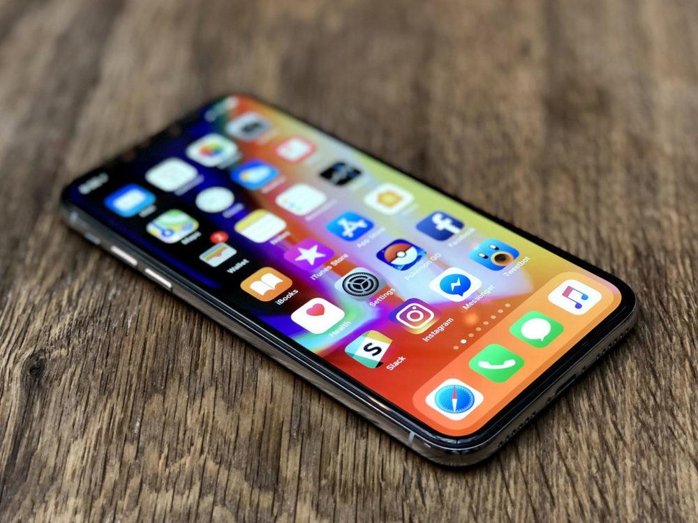 iPhone X iOS 12 1000x750 iOS 12.3 bêta 2 est disponible au téléchargement