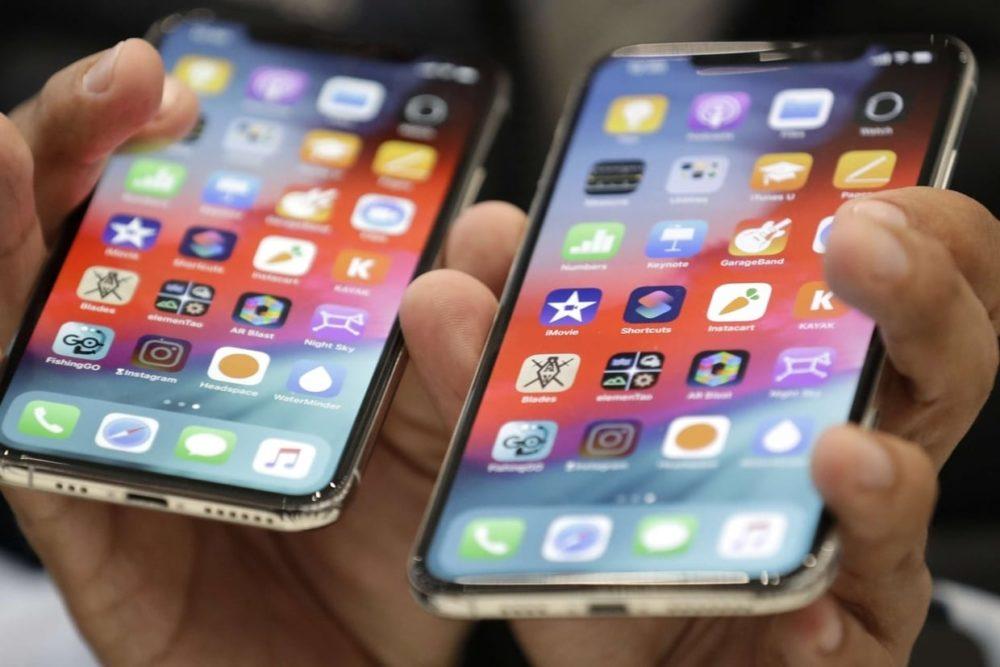 iPhone Xs 2 Autonomie en navigation : liPhone Xs et Xs Max derrière liPhone X