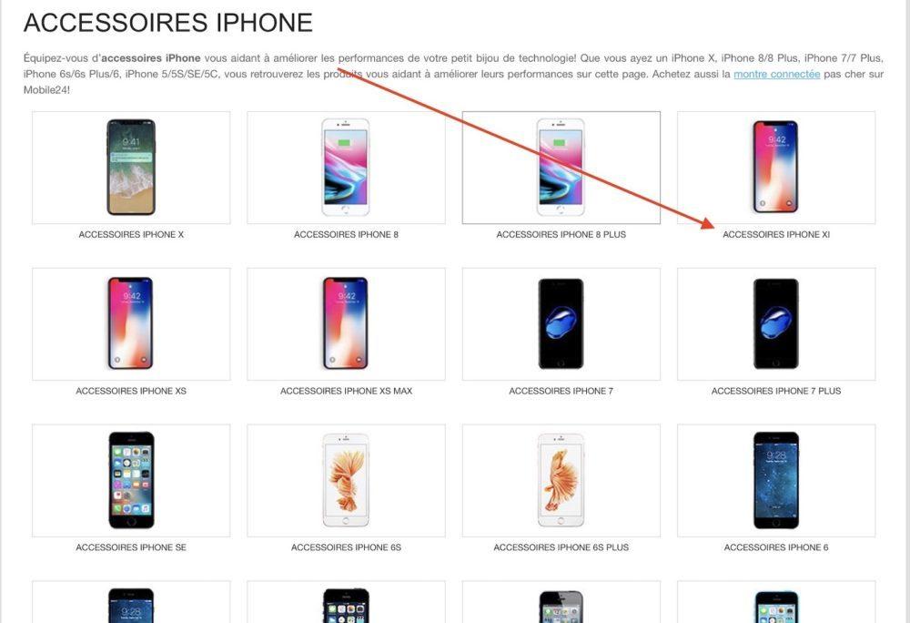 iphone xi accessoires 1000x684 Selon les rumeurs, liPhone LCD de 6,1 pouces serait baptisé iPhone XI ou iPhone Xr