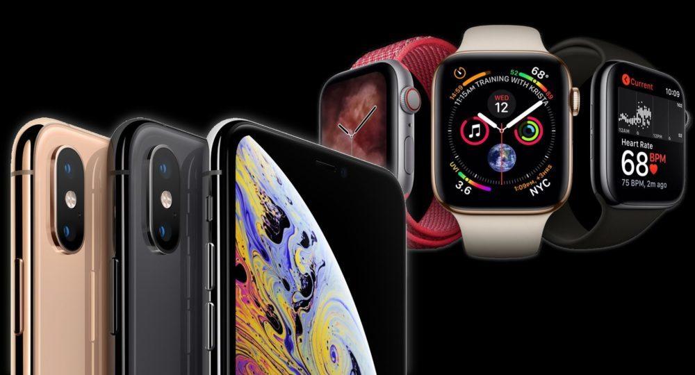 iphone xs watch series 4 1000x540 Les précommandes de lApple Watch Series 4 sont plus importantes que celles des iPhone XS