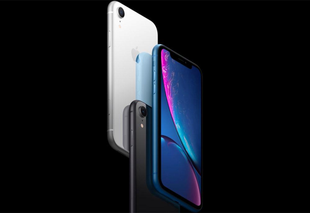 3 iPhone XR Apple 1000x687 Lautonomie de liPhone XR est meilleure par rapport à celle de liPhone XS et de liPhone XS Max