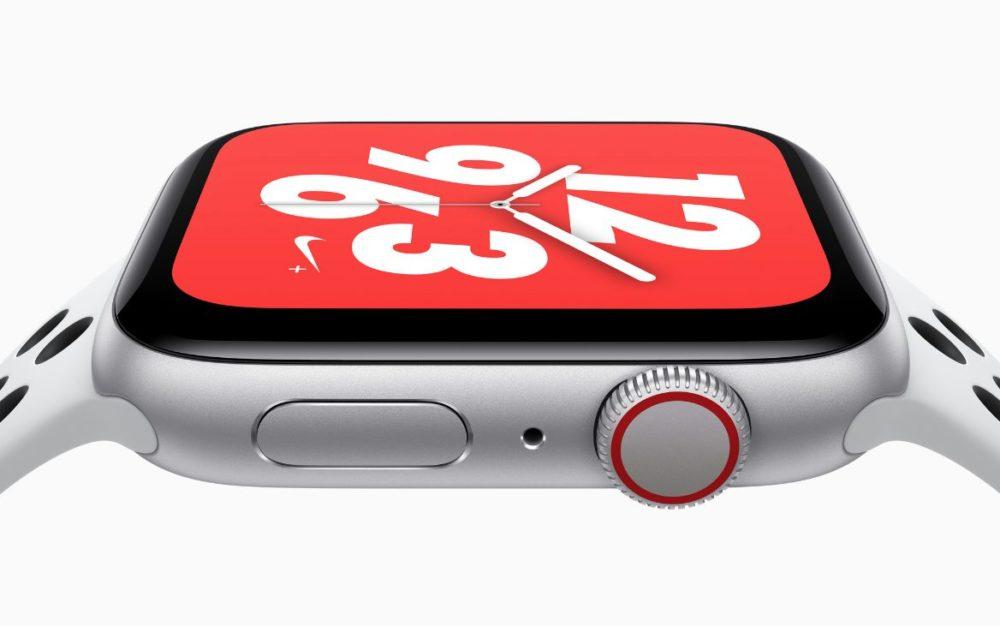 Apple Watch Series 4 Nike L'Apple Watch Series 4 Nike+ disponible à l'achat