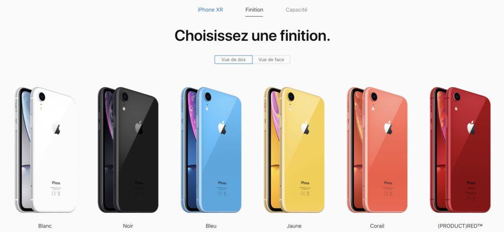 Capture d'écran 2018 10 26 à 14.12.30 LiPhone XR est à présent disponible à lachat