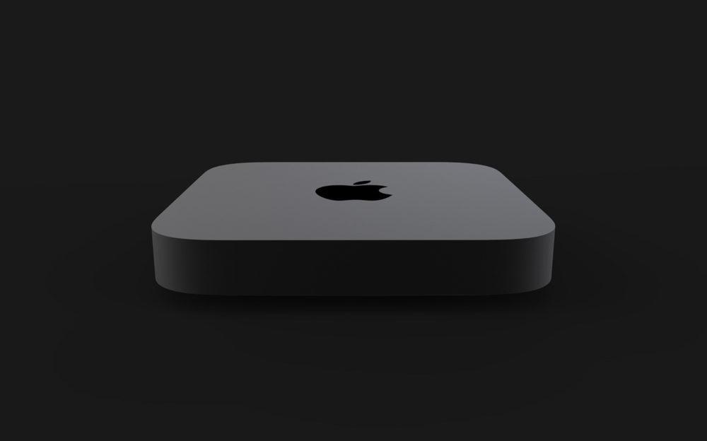 Concept Mac Mini Pro 2 1000x624 Un concept Mac mini Pro présente un Magic Keyboard avec Touch Bar et Touch ID